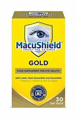 Eye health MacuShield GOLD 30 Day Pack (90 Tablets)
