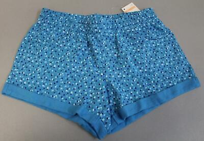 Gymboree Girl's Spotted Elastic Waist 4-Pocket Knit Shorts HD3  Blue Size 8 NWT