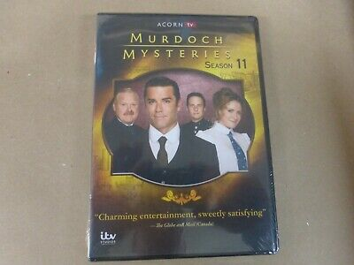 New & Sealed Murdoch Mysteries Season 11 11th Eleven (DVD SET)