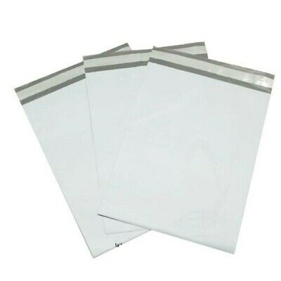 Poly Mailers Plastic Envelopes Shipping Bags UpakNShip 2.5 Mil White Premium
