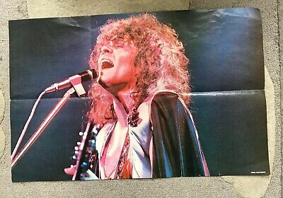 Marc Bolan Of T Rex Folded Poster