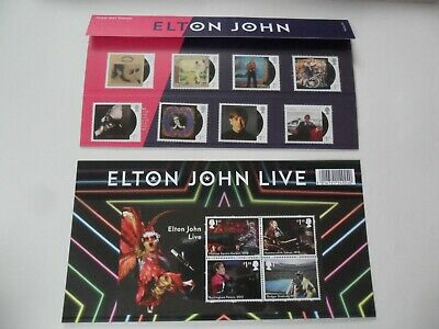 Elton John  - Presentation Pack  no. 575 (12 Stamps) NEW
