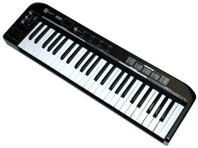 Pro Audio Series MIDI Keyboard Controller - Black 49 Key Pitch-bend & Modulation
