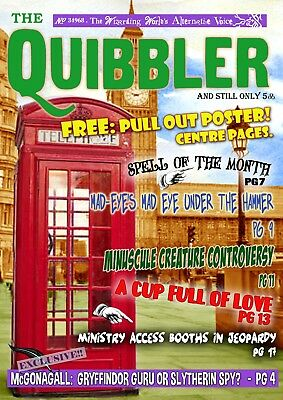Harry Potter - The Quibbler - Issue 3 - Complete Magazine - Original