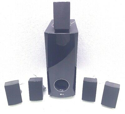 LG SURROUND SOUND MINI SPEAKERS WITH SUB-WOOFER (Blu-Ray Player Not Included)