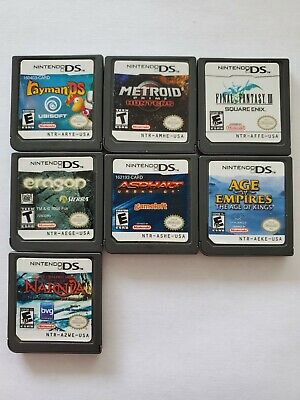 Nintendo DS Game Lot (Cartridge Only - Very Good Condition)