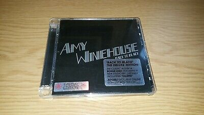 AMY WINEHOUSE - BACK TO BLACK (DELUXE 2xCD EDITION - 19 TRKS)