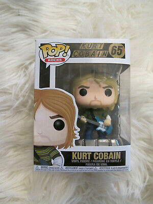Funko Pop Rocks - 65 - NIB - Kurt Cobain - Nirvana