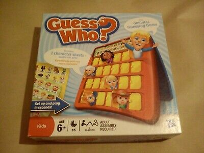 Guess Who By Hasbro Games Complete With Rules Game Guessing Toys Kids Classic