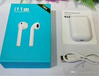 NEW Elite Grade Wireless Earbuds For Airpods Style Headphones i11s TOUCH CONTROL