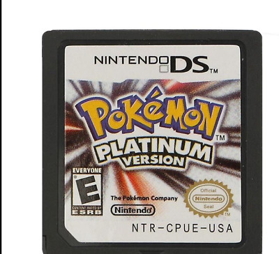 HOT Pokemon Platinum Version Game Card For Nintendo 3DS NDS DSI XMAS Gift US