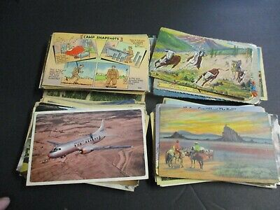 Lot of Vintage Postcards USED 175+ 1940's - 1950's