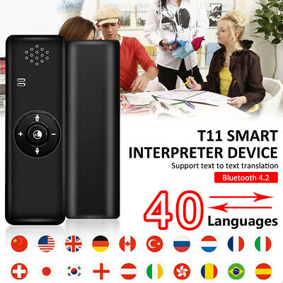 T11 Translaty MUAMA Enence Smart Instant Real Time Voice 40 Languages Translator