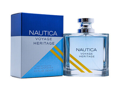 Nautica Voyage Heritage by Nautica 3.4 oz EDT Cologne for Men New In Box