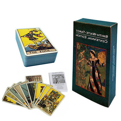 78pcs Pack Original Smith-Waite Rider Tarot Deck Vintage Cards Card Set Sealed
