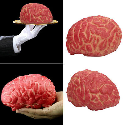 Lifelike Bloody Fake Brain Haunted House Spooky Halloween Props Party Decoration