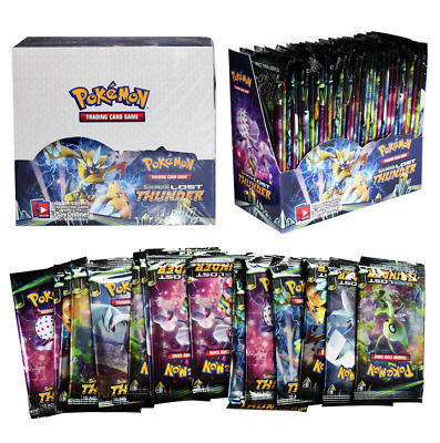 36 Booster-Packs 324ps Pokemon Cards TCG Sun & Moon Lost Thunder Booster-Box toy