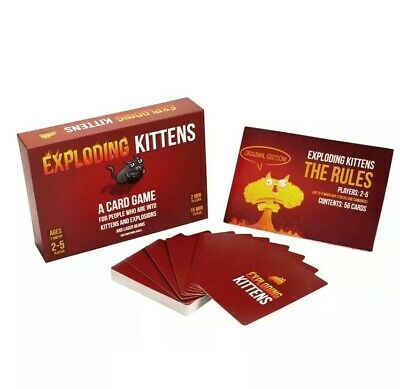 Exploding Kittens Card Game Original Edition Family UK Seller