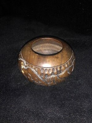 Chestnut Wooden African Style Collectors Ordainment Antique Brilliant Condition