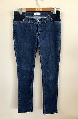 Seraphine | Blue Stretch Underbump Maternity Jeans | Sz 1 AU 8