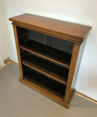 Antique Mahogany Bookcase for Library, Kitchen, Bedroom or Living Room