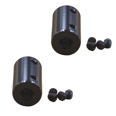 2 x 5mm To 8mm Aluminum Shaft Coupling Rigid Coupling Coupler Motor Connector