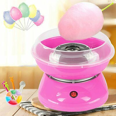 Electric Candy Floss Machine Sugar Cotton Maker Home Party Sweet Present Gift UK