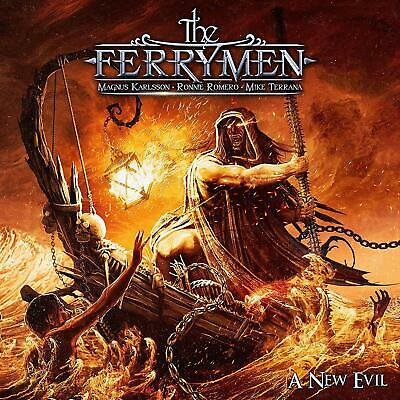The Ferrymen	A New Evil CD ALBUM NEW (11TH OCT)