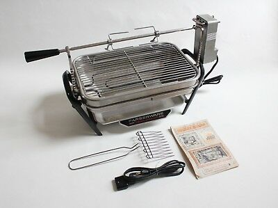 farberware open hearth electric broiler | rotisserie grill cooker vintage