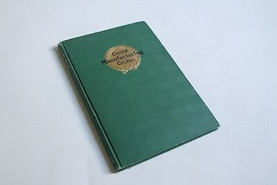 antique good mfg plumbing catalog 1925 | deco vtg victorian plumbing book trade