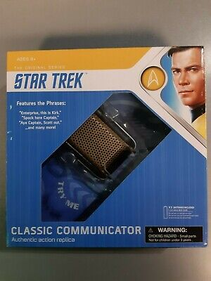 Diamond Select Toys Star Trek Classic Communicator (USED STORE RETURN)