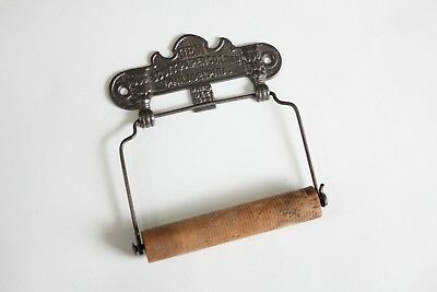 antique toilet paper holder | philadelphia vtg deco victorian bath tissue tp
