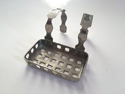 antique bathroom tub soap holder | sternau vintage bath art deco soap holder