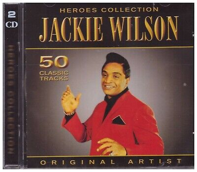 JACKIE WILSON - 2 CD - Heroes Collection - BRAND NEW