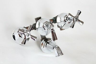 antique tub faucet filler shower sink | briggs vtg mixing faucet victorian deco