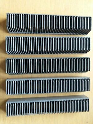 Slide projector cassette tray 5X 50 slides FOR LEICA & KINDERMAN HANNIMEX ETC.