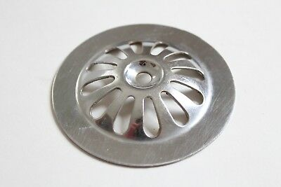 antique sink tub shower drain strainer | vtg victorian bath tub shower art deco