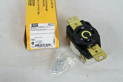 NEW NIB HUBBELL HBL2610 30A Angle Twist-Lock Receptacle 2610A Electrical Part