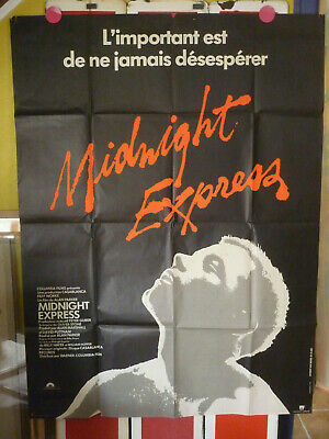 Cinema Affiche Film Midnight Express Alan Parker Brad David John Hurt 1978
