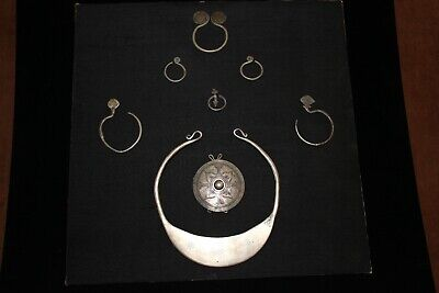 Antique Chinese Sterling Silver Miao People Jewellery Pieces!