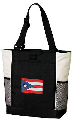 Puerto Rico Tote Bag RICH Dye Washed Pink COTTON CANVAS