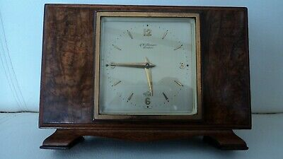 Elliott Mantel Clock Retailed By J W Benson  Escapement Good Working Clock
