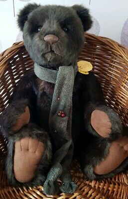 Charlie bear ~ Hugo ~ EXCELLENT Condition ~ Real Handsome Chap