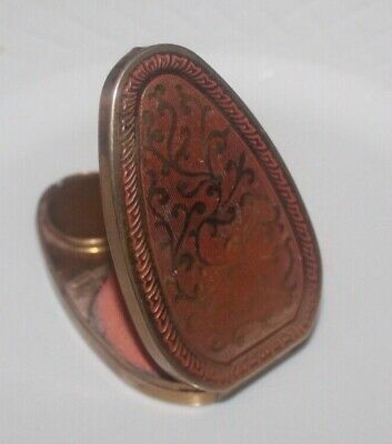 Vintage Compact Vanity Case Fiancee by Woodworth