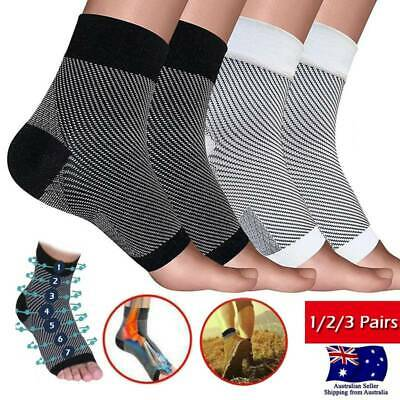 Compression Socks Medical Stocking Travel Running Plantar Fasciitis Anti Fatigue