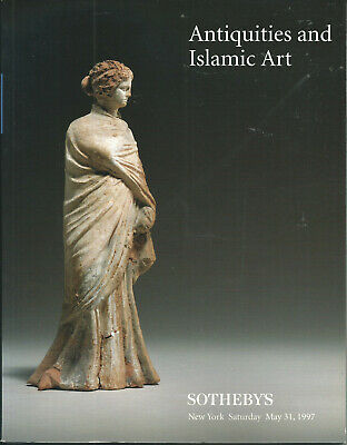 SOTHEBY'S ANTIQUITIES ISLAMIC Glass Bronzes Jewelry Cylinder Seals Catalog 1997