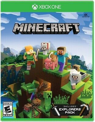 Xbox One Xb1 Game Minecraft Mine Craft Explorers Pack Brand New And Sealed