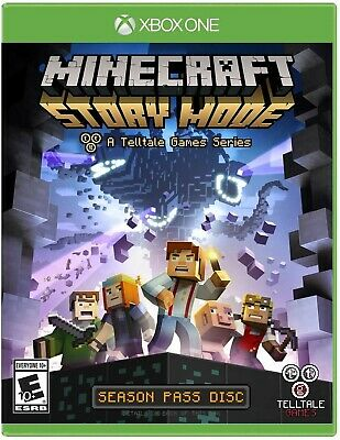 Xbox One Xb1 Game Minecraft: Story Mode Brand New And Sealed