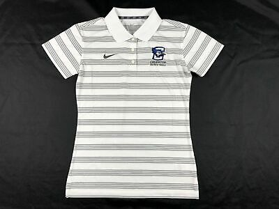NEW Nike Creighton Bluejays - Men's White Dri-Fit Polo Shirt (Multiple Sizes)