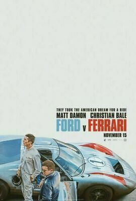 Ford v. Ferrari Movie 1966 Battle Car 14 24x36 Poster G-261